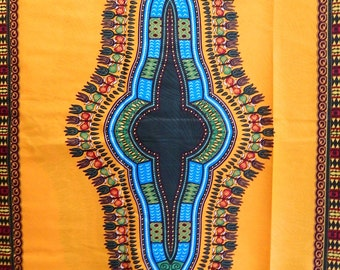 Angelina African Print Dashiki Fabric , HITARGET,(Sold by panel)