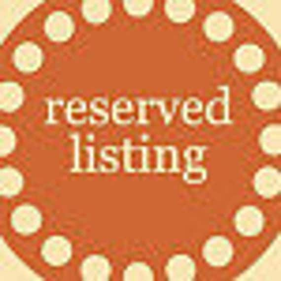Reserved for Nichole M. - Additional flowers for existing order