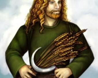Freyr Prayer Card