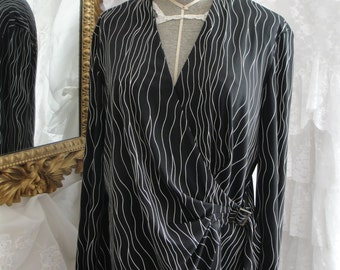 Women's vintage clothing, women's clothing, women's vintage, women's tops, long sleeved tops, work clothing, vintage tops