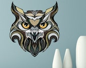 ON SALE 20% OFF Owl Wall Sticker Decal by Andreas Preis