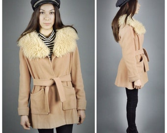 60s // 70s Penny Lane Shearling Almost Famous Coat