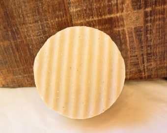 Ginger Patchouli Scented Round Shaving Shave Soap