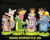 Dora and friends birthday party centerpiece
