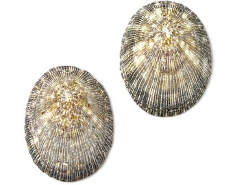 Shell Cufflinks - Shells - Groomsmen Gifts - Gifts For Men - Gift Box Included
