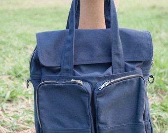 Matt // Ship in 3 days // tote / cross body bag / Messenger Bag / Computer Bag / Canvas Bag