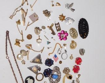 Vintage Jewelry Repair Lot