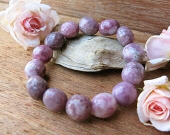 Lilac Lepidolite Bracelet