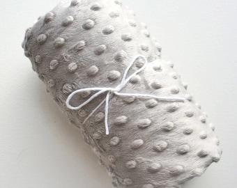 Minky Fitted Crib Sheet Grey - Solid Minky Crib Sheet - Solid Crib Sheet - Solid Crib Bedding-Grey Fitted Crib Sheet-Grey Crib Sheet-Bedding