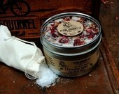 Natural Salt Bath Soak, Lavender Rose 16 oz.  - Item# BSK_LAVRS_01