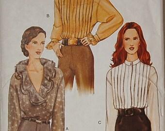 Vogue 7507 Blouse Pattern Misses 8 - 10 UNCUT