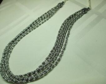 Multi Strand Necklace 4