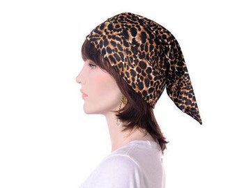 Nightcap Silky Animal Leopard Print Lightweight Sleep Hat for Adult Men Women Night Cap Sleeping Beanie Animal Print Elf Hat Poor Poet Hat