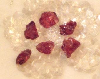Rhodolite Garnets Rough For Jewelry
