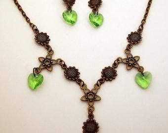 Gothic Renaissance Vintage style Jewellery Set