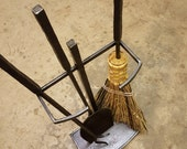 Fireplace Tool Set w/ Stand - (Made to Order)