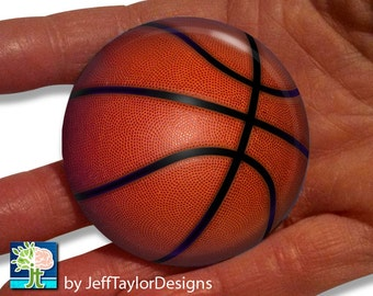 Basketball Pocket Mirror