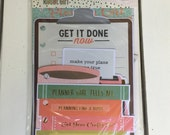 Carpe Diem- The Reset Girl Dashboards by Simple Stories, Snap product, A5/mini planner, for planning, scrapbooks, card making