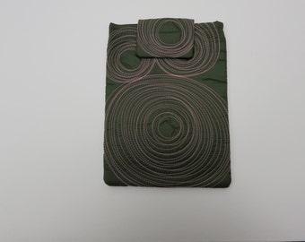 ereader and ipad mini case. washable. one of a kind. vegan