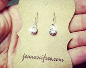Classic Swarovski Crystal Earrings - Sterling Silver Plated Ear Wires - Great for Sensitive Ears - Free Gift Box - Fabulous Sparkle!