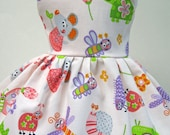 Garden Mouse Sleeveless Dress for your American Girl Doll A
