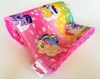 My Little Pony, Fuchsia, Minky, Baby Blanket