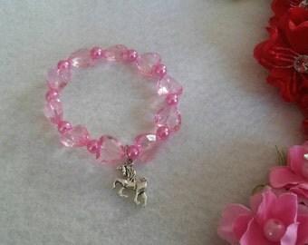 10 Unicorn Bracelets Party Favors