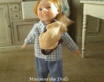 Minimariba Dolls - Scared little child