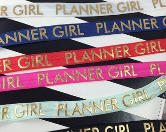 Planner Girl Planner Pen Loop for Erin Condren, Happy Planner, Kikki K, Filofax, Plum Paper, and more