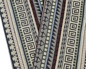 Thai Woven Fabric Tribal Fabric Native Cotton Fabric by the yard Ethnic fabric Aztec fabric Craft Supplies Woven Textile 1/2 yard (WF81)