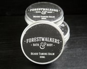 Cinnamon & Vanilla - Beard Taming Balm for Men - Vegan, Cruelty Free, Handmade - Forestwalkers