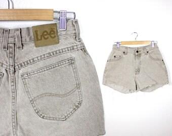 Vintage Retro LEE High Waisted Shorts 10M
