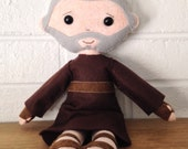 Catholic Doll - Saint Padre Pio - Wool Felt Blend - Catholic Toy - Felt Doll
