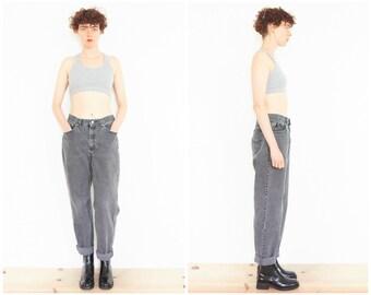 90s Grey Stonewash Denim Jeans - 28 Waist