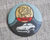 Vintage Soviet plastic badge,pin.