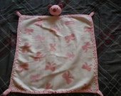 Little Piggy Cuddle Blanket