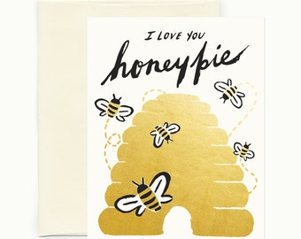 Honey Pie Greeeting Card