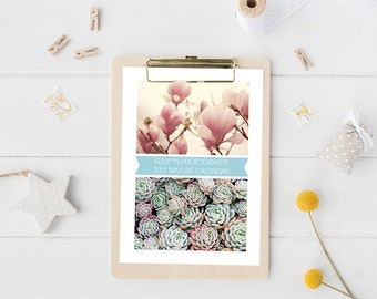 2017 Photo Desk Calendar, Nature and Flowers Calendar, 5x7 Loose Page Desk Calendar, 12 Month Calendar, Holiday Gift, Flower Photography