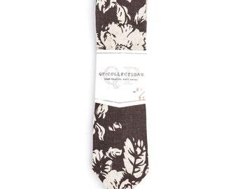 Prieta Orgullosa - Skinny Tie - Wedding - Monogram - Groom