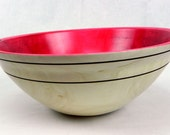 Colored wooden Bowl, 452