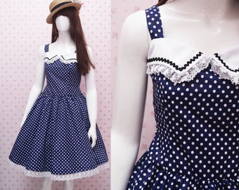 Jumper Skirt Dress Cute Pink Teddy Bear Playground - Jumper Skirt Dress - Kawaii Clothing -  Lolita Dress - Teddy Bear
