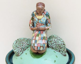 ceramic prayer jar