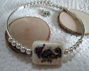 Seahorse Bead Bracelet