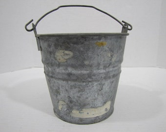 Galvanized Bucket Vintage #4 – 070916