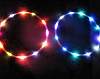 SUN & MOON  Mini/poi or Twin LED Hoops