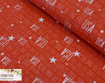 USA on Red by Windham Fabrics