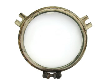 Salvaged port hole window