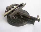Antique Typewriters, O Dells Typewriter Victorian Typewriter