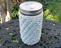 Pint & Half Cozy - 24 oz. size Mason jar - drinking glass - gift container