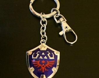 The Legend of Zelda Hyrule Shield Keychain